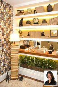 Sala de leitura – Renata Rabello - Terra Nossa Móveis & Decoração no Morar Mais por Menos