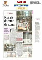 Terra Nossa Moveis & Decoracao no Jornal O Globo - Morar Bem - Na sala de estar da Saara