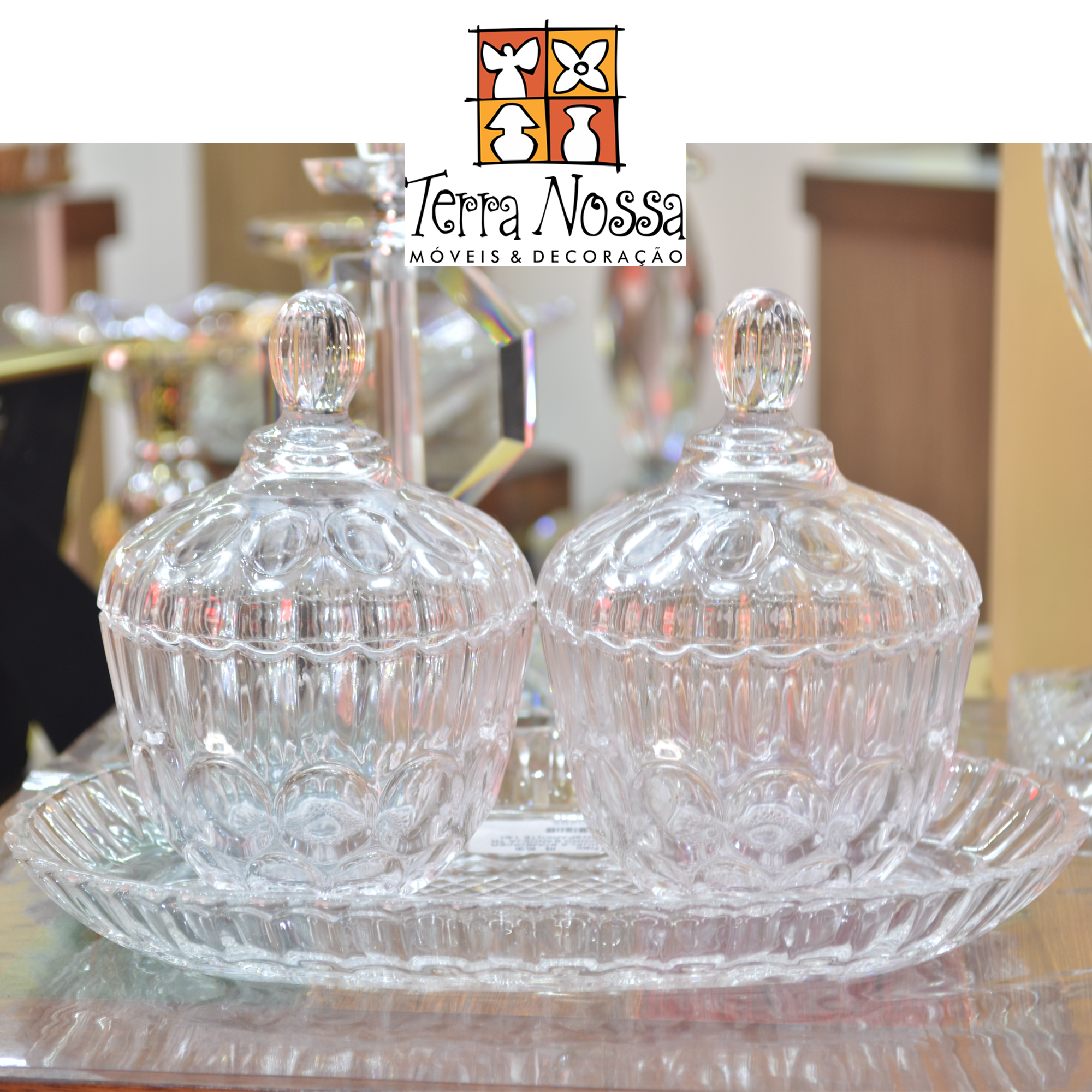 Decore com a loja Terra Nossa são lindos vasos, porta joia em diversos modelos