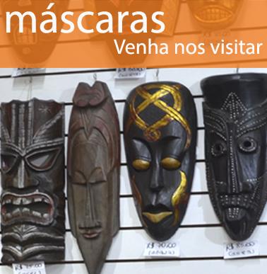 loja terra nossa para presentear e decorar com mascaras da asia Indonésia